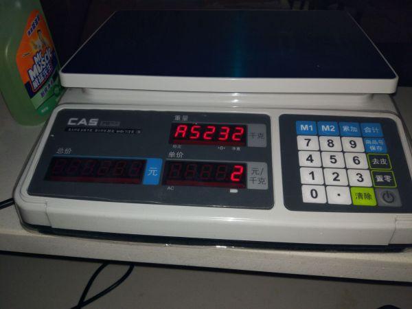 凯士CAS-PR计价电子秤兼容大华ACS-15串口秤-银豹博客